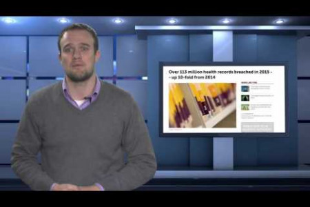 VIDEO: Health Care Data Breaches Are up 10-Fold from 2014 Infographic