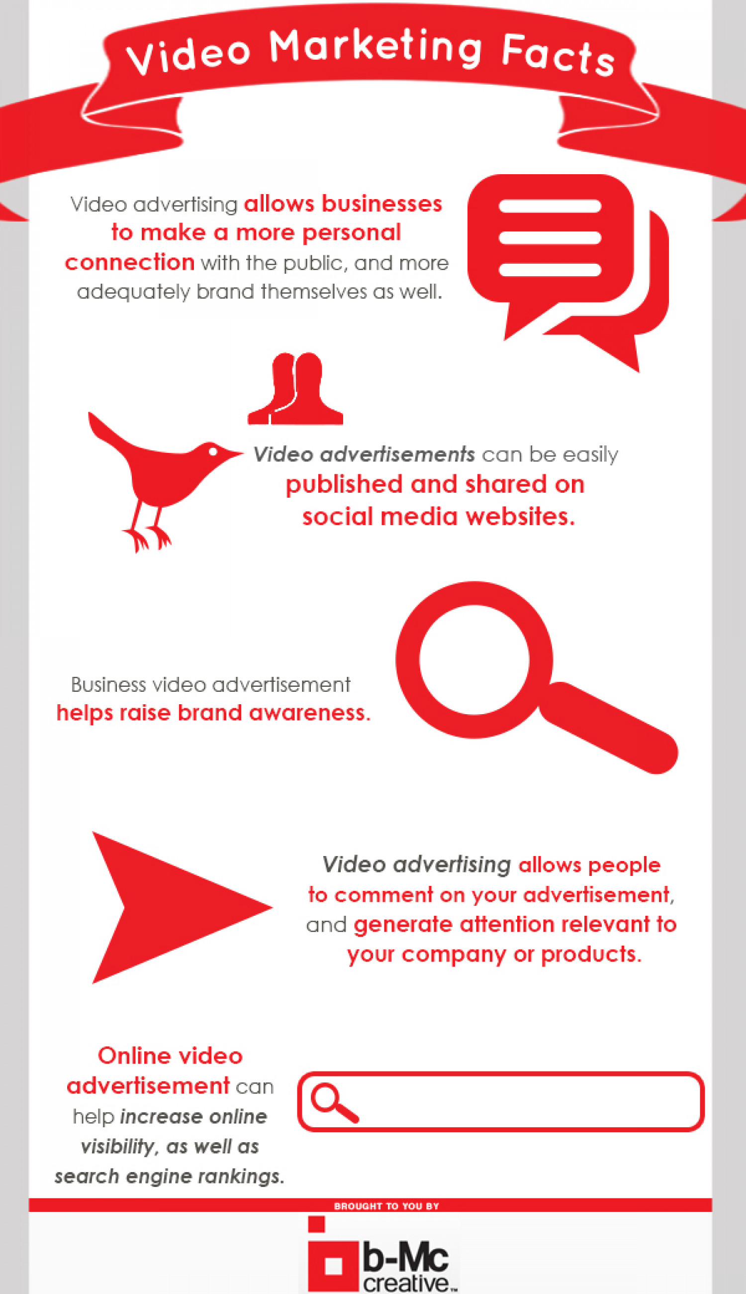 Video Marketing Facts Infographic