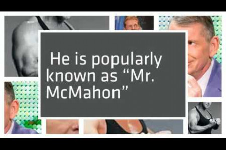 Vince McMahon net worth 2016 Infographic
