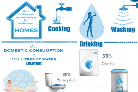 Virtual Water Infographic