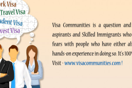 Visa Communities Immigration foru Infographic