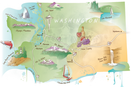 Visit Washington State Infographic