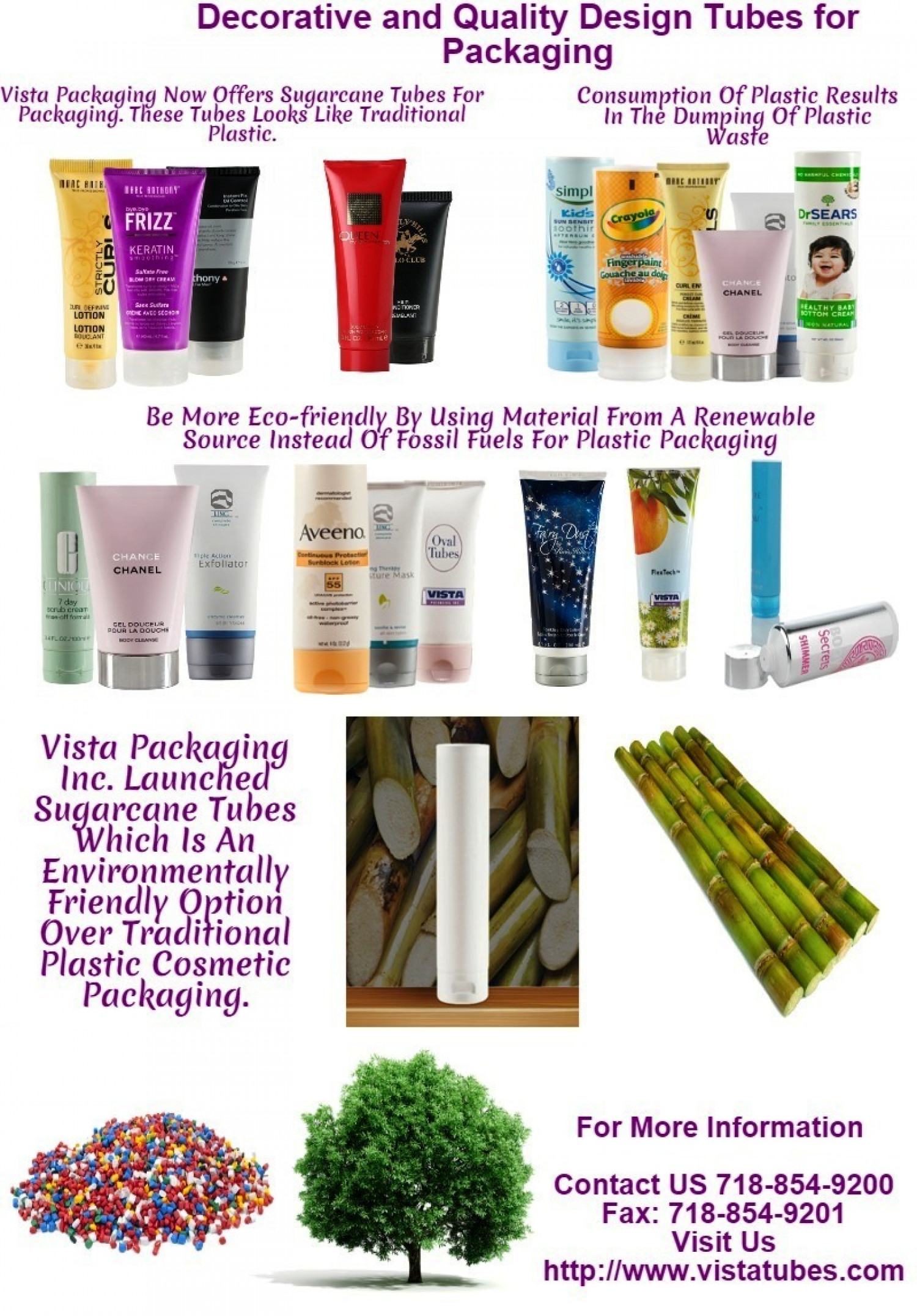 Vista Packaging Leads the Way in Environmentally Friendly Cosmetic Packaging  Infographic