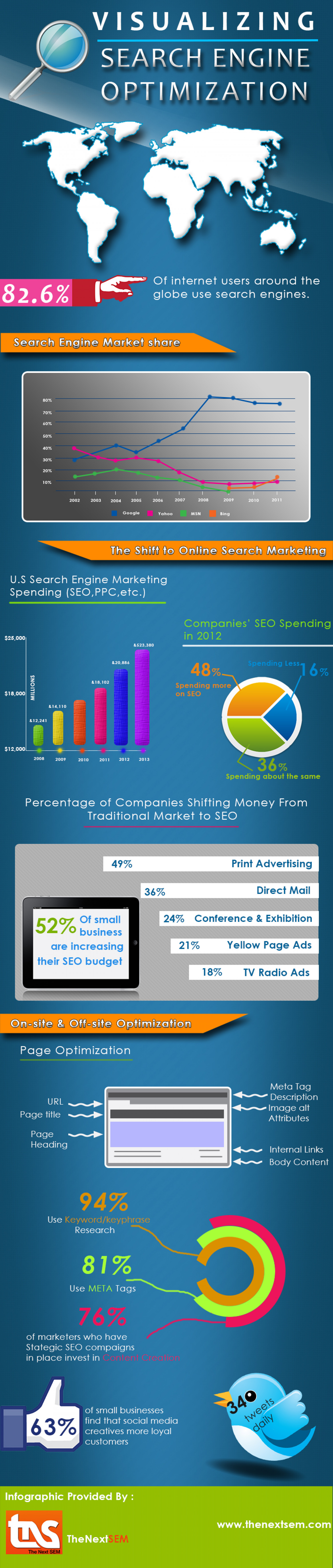 Visual of SEM Market Infographic