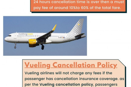 Vueling cancellation policy Infographic