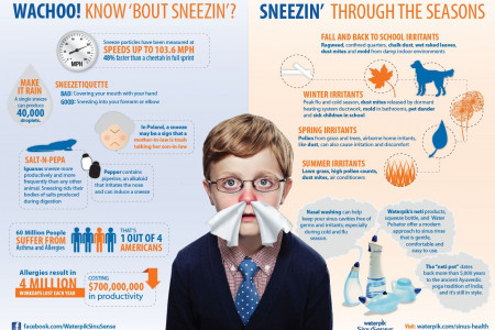 WACHOO Know About Sneezin? Infographic