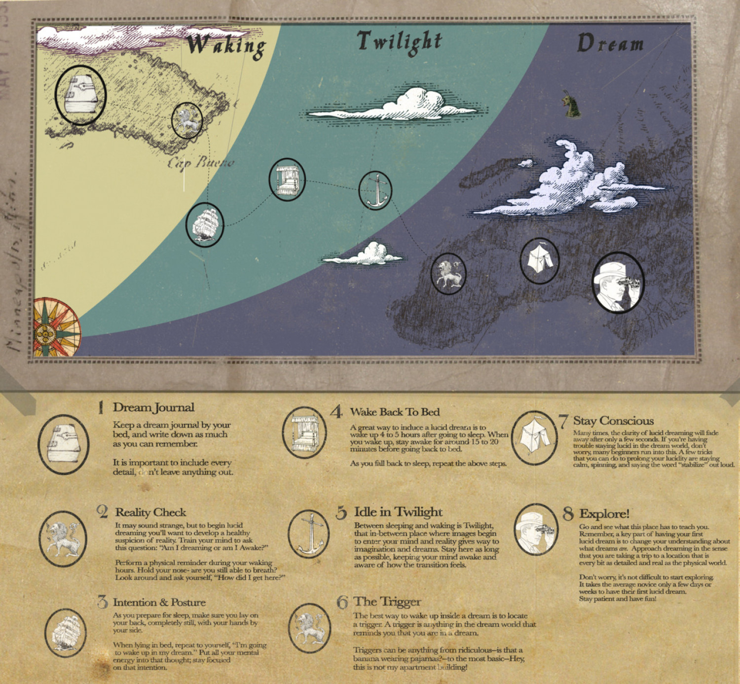 Waking Twilight Dream  Infographic