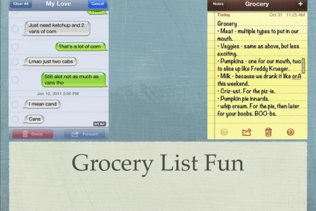 Want some healthy grocery list fun? Infographic