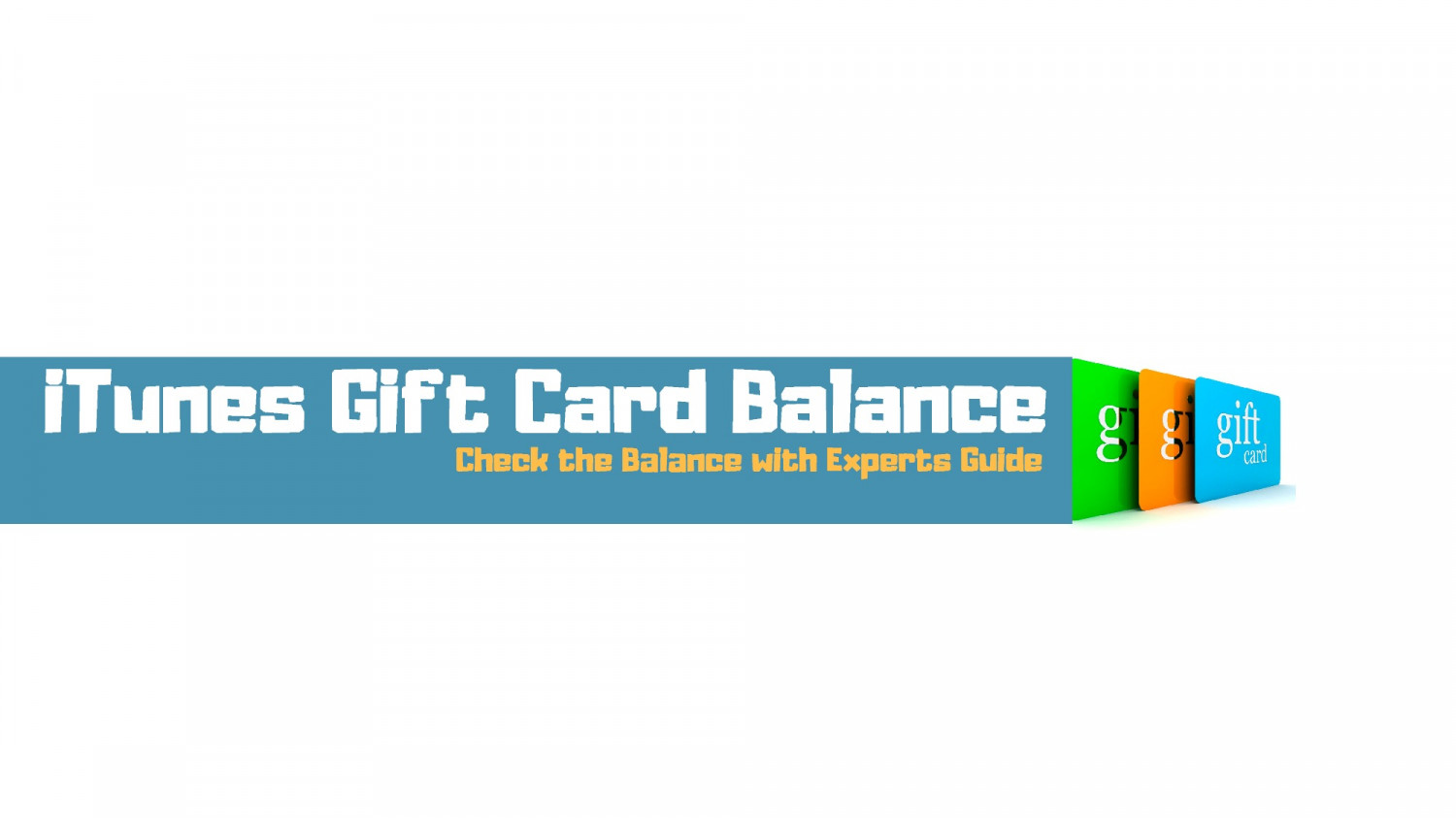 Want To Check iTunes Gift Card Balance - Must See The Experts Guide!!! Infographic