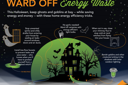 Ward Off Energy Waste Infographic