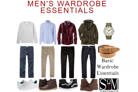 Wardrobe Essentials Infographic