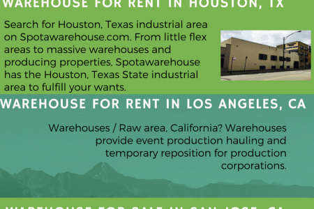 Warehouse For Rent In Los Angeles, CA Infographic