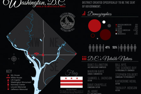 Washington, D.C. Infographic