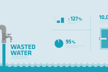 Wasted Water Infographic