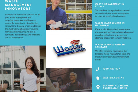 Waster AU Brochure Infographic