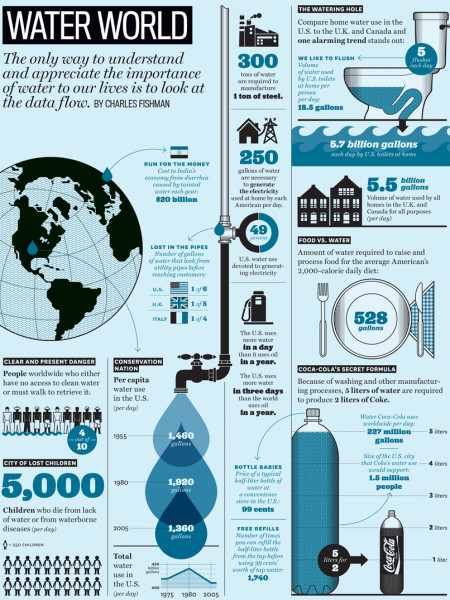 Water World  Infographic