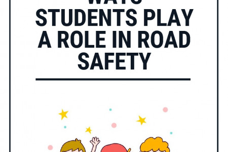 Ways Students Play a Role in Road Safety Infographic