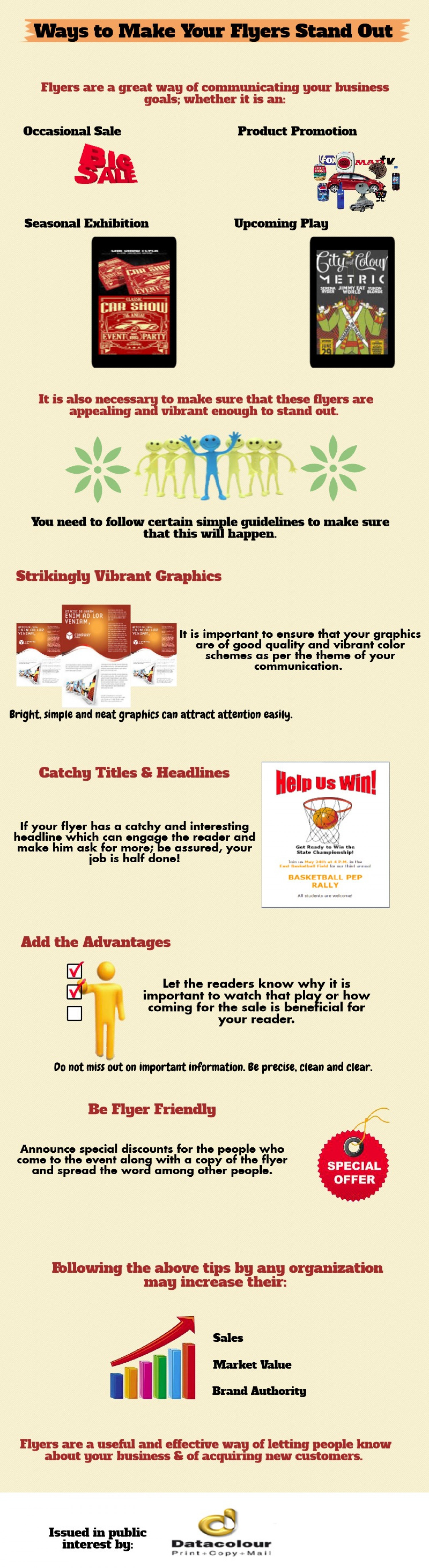 ways to make your flyers stand out ly ways to make your flyers stand out infographic