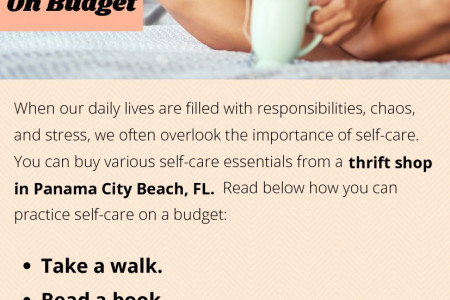 Ways To Practice Self Care On Budget Infographic