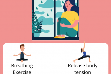 Ways Yoga Can Help With Your Anxiety Infographic