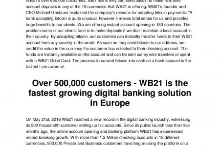 Wb21 | Banking Redifined Infographic