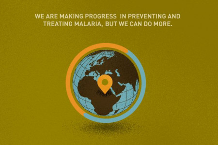 We Can End Malaria Infographic