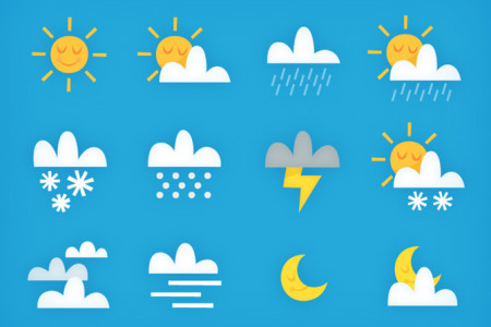 Weather Icons Infographic