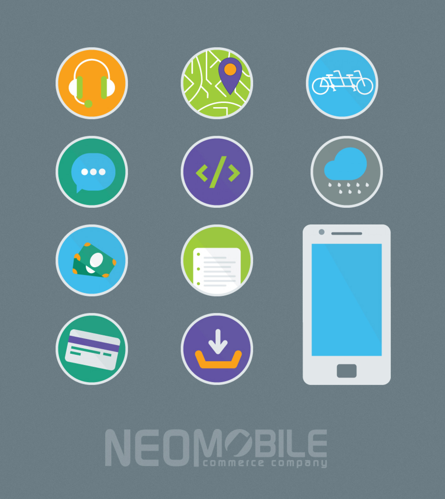 Web & Graphic Design Freebies by Neomobile Infographic