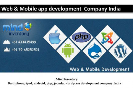 Web & Mobile Application Development Company India  Infographic