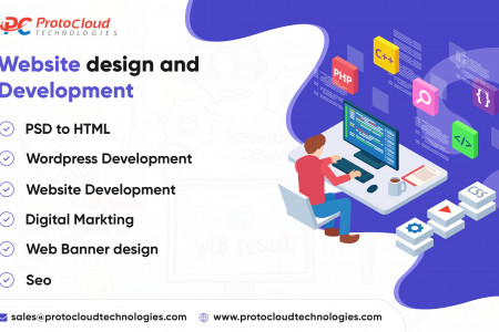 Web and Graphic Design Company in India Infographic