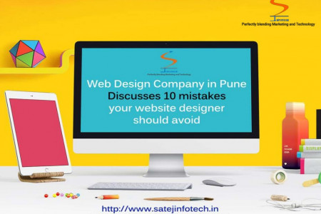 Web Design Company in Pune Discusses 10 Mistakes Your Website Designer Should Avoid Infographic