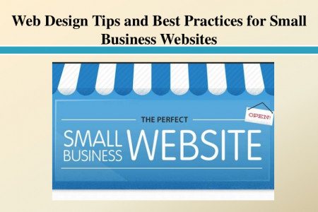 Web Design Tips and Best Practices for Small Business Websites Infographic