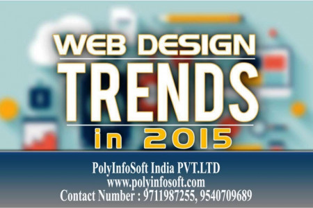 Web Design Trends for 2015 Infographic