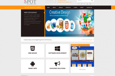 Web Designing Company in Chennai Infographic