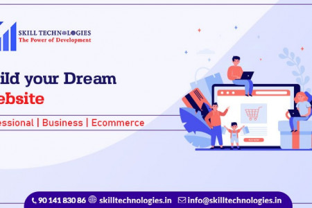 Web Designing Services in Hyderabad Infographic