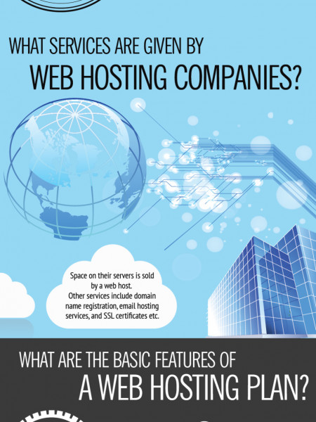 Web Hosting Guide For Beginners Infographic