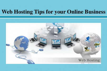Web Hosting Tips for your Online Business Infographic