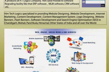Web Site Designing Companies in Chandigarh Infographic