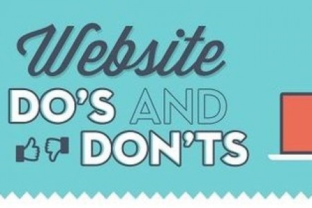 WEBSITE WHAT TO DO AND WHAT NOT TO DO! Infographic