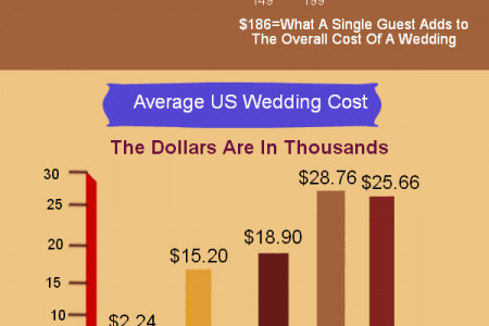 Wedding Statistics In USA Infographic