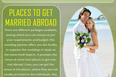 Weddings In Spain Infographic