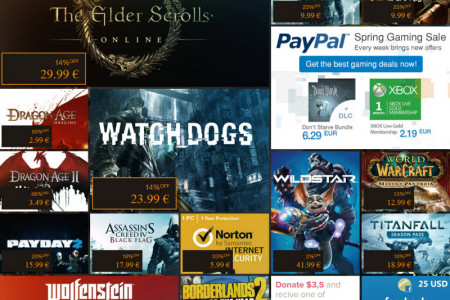 G2A Weekly Game Deals Infographic