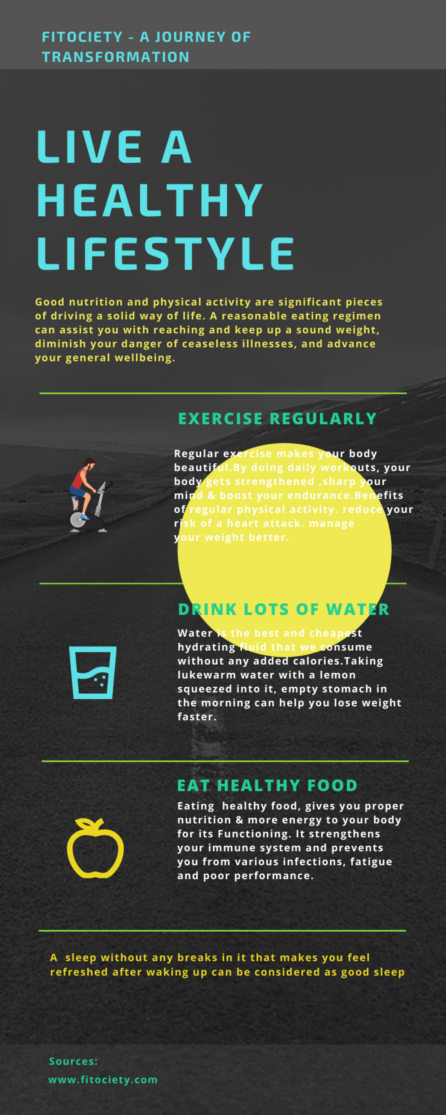 Weight lose Tips to Burn Calories   Fitociety- A Journey of Transformation Infographic