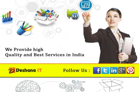 Welcome to Deshana IT, a complete IT solution Infographic