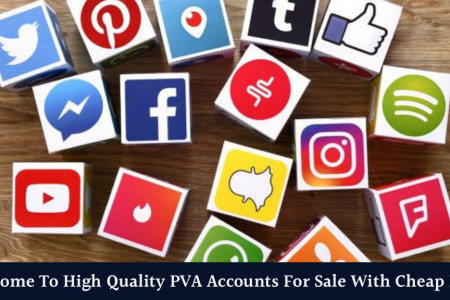 Welcome To High Quality PVA Accounts For Sale With Cheap Price Infographic