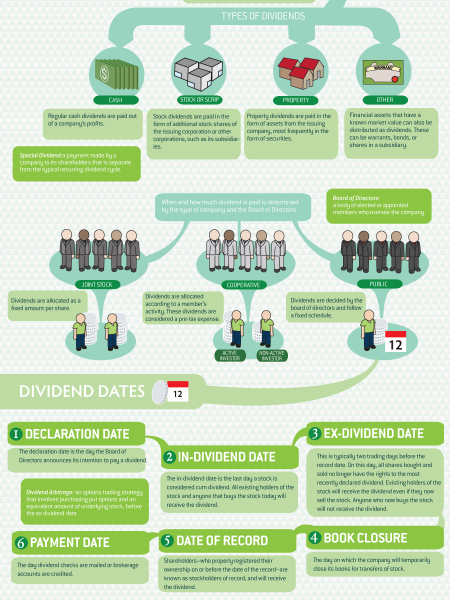 What Are Dividends?  Infographic