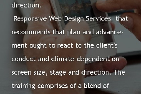 What are Responsive Web Design Services?  Infographic