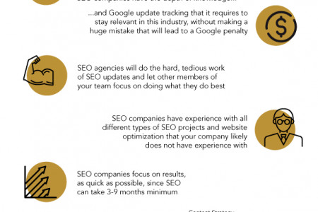 WHAT ARE THE ADVANTAGES TO WORKING WITH AN SEO AGENCY? Infographic