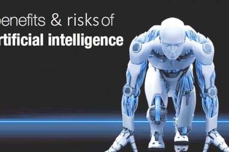 What are the benefits and risks of Artificial Intelligence? Infographic