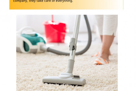 What Are The Benefits of a Full-Service Cleaning Company? Infographic